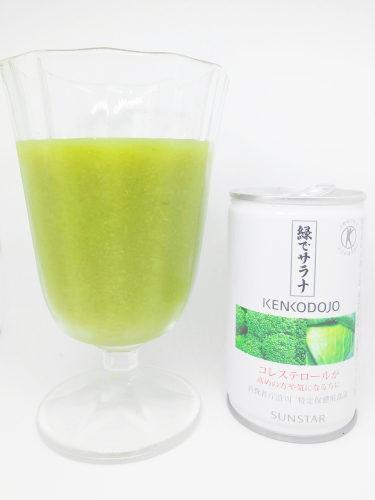 サントリー 健康道場 野菜ジュース 緑でサラナ DSC00827 (2)