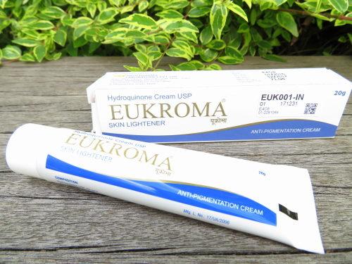 ユークロマ クリーム(Eukroma Cream)ハイドロキノン4%IMG_0108
