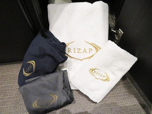 ライザップ RIZAP  銀座店 更衣室