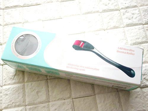 セルフダーマローラー 医療用チタン針 540本針 2.5mm