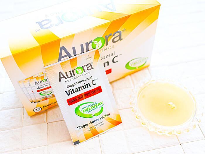 Aurora Nutrascience, Mega-Liposomal Vitamin C, 3,000 mg