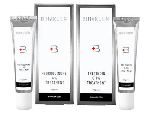 bihakuen ビハクエン トレチノイン0.1% ハイドロキノン4%